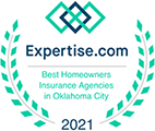 Expertise.com 2021 Best Homeowners Insurance Agencies of Oklahoma City
